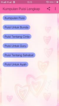 Kumpulan Puisi Lengkap screenshot 8