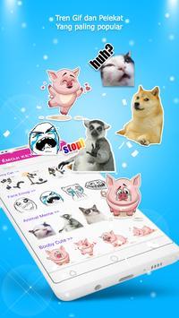 Papan Kekunci Emoji - Emoji, GIF, Tema syot layar 3