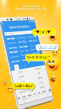 Papan Kekunci Emoji - Emoji, GIF, Tema syot layar 14