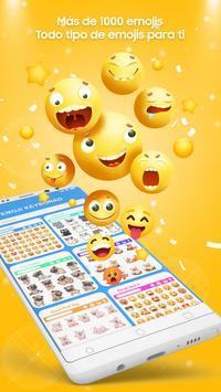 Teclado Emoji - Emojis Lindos, GIF, Temas captura de pantalla 17