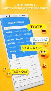 Teclado Emoji - Emojis Lindos, GIF, Temas captura de pantalla 13