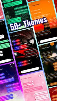 LED Messenger - Color Messages, SMS & MMS app poster