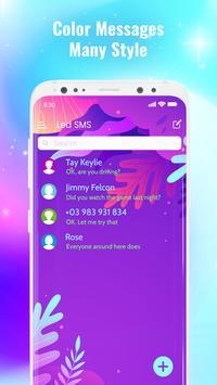LED Messenger - Color Messages, SMS & MMS app screenshot 10