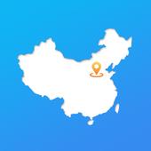 中国地图(纯免费):包含全国地图、历史地图、旅游地图、交通地图、世界地图、各省地图 icon
