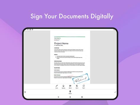 Document Scanner - (Made in India) PDF Creator स्क्रीनशॉट 11
