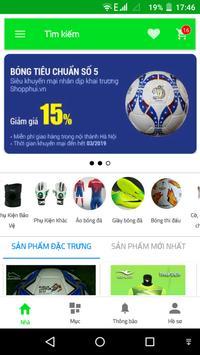SHOPPHUI - Kênh TMĐT bóng đá, thể thao phong trào screenshot 1