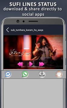 sufi lines status video: 30 second status video screenshot 1