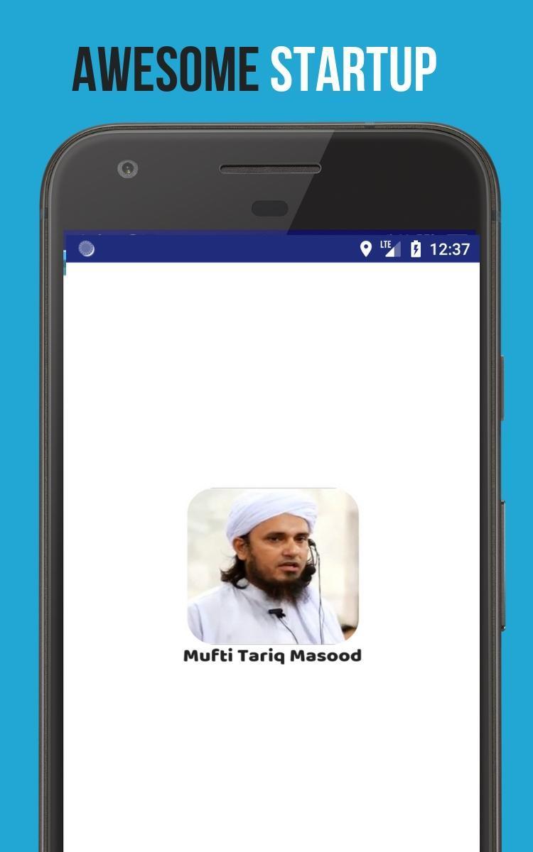 Mufti Tariq Masood for Android - APK Download