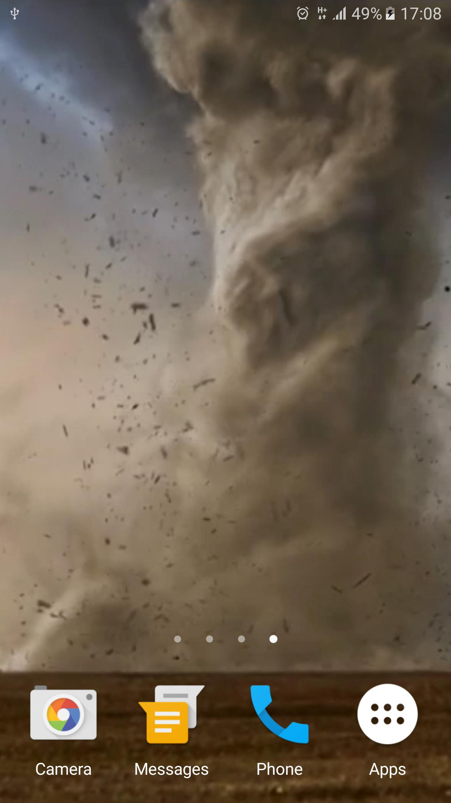 Tornado 3D Live Wallpaper for Android ...