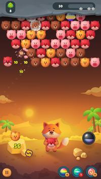 Bubble Fox Shooter screenshot 1