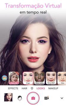 YouCam Makeup Cartaz