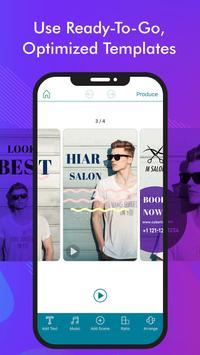 Ad Director: Video Maker for Business screenshot 1