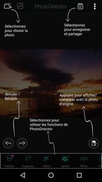 PhotoDirector capture d'écran 7