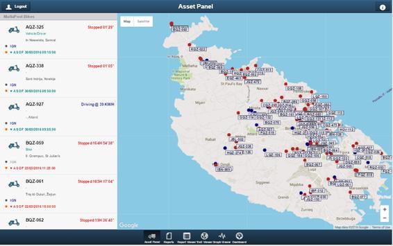 Cybertrak screenshot 1
