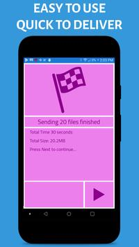 Contact & File Transfer Wizard स्क्रीनशॉट 6