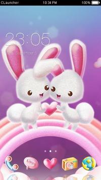 kelinci tema lucu screenshot 1