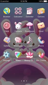kelinci tema lucu screenshot 2