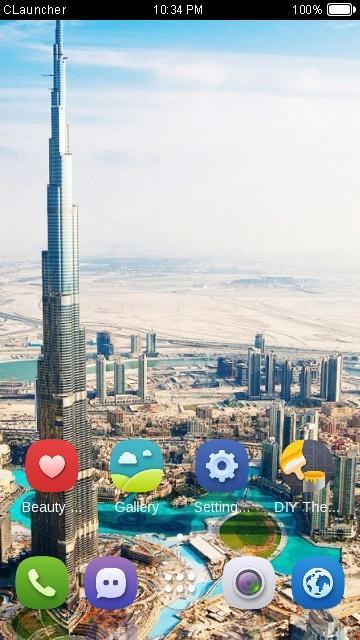 موضوع برج خليفة Clauncher For Android Apk Download