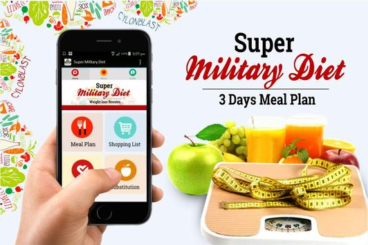 Super Military Diet Plan plakat