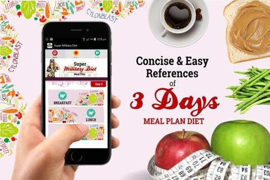 Super Military Diet Plan screenshot 3