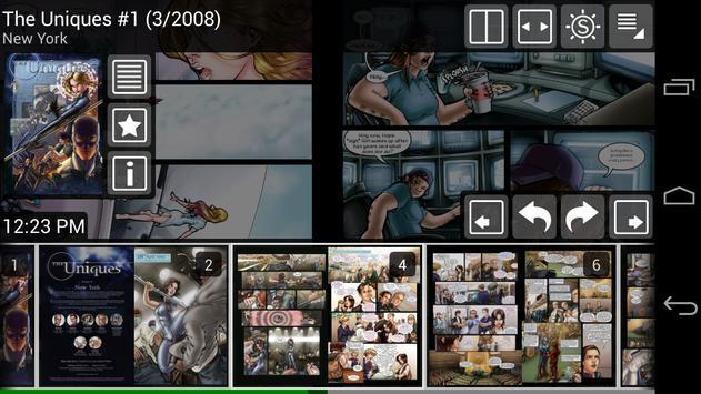 ComicRack Free capture d'écran 3