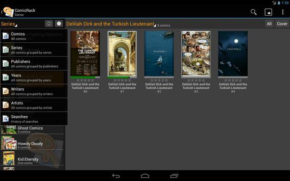 ComicRack Free capture d'écran 6