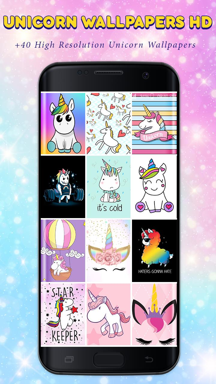 Unicorn Wallpapers Kawaii Backgrounds For Android Apk Download