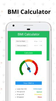 BMI calculator - Find BMI by best bmi checker app ポスター