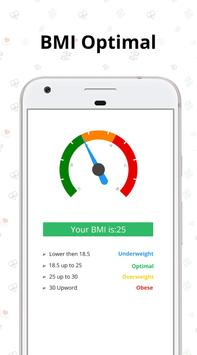 BMI calculator - Find BMI by best bmi checker app スクリーンショット 1