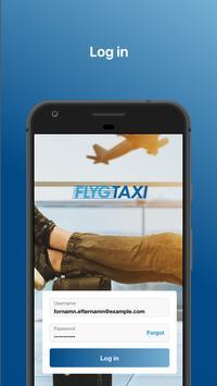 Flygtaxi poster