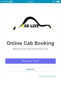 Cab Live Merchant App screenshot 2
