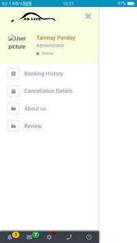 Cab Live Merchant App screenshot 4