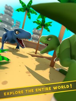 Dinos World Jurassic: Alive Indoraptor Park Game screenshot 4