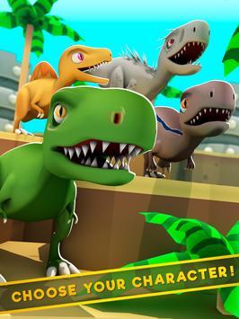 Dinos World Jurassic: Alive Indoraptor Park Game screenshot 5