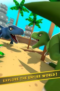 Dinos World Jurassic: Alive Indoraptor Park Game screenshot 1