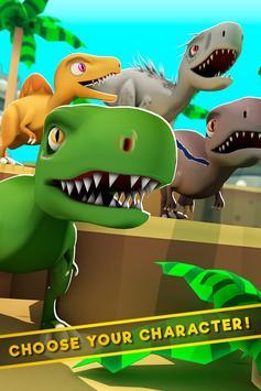 Dinos World Jurassic: Alive Indoraptor Park Game screenshot 2