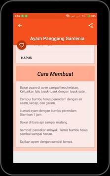 Aneka Resep Ayam Offline screenshot 7