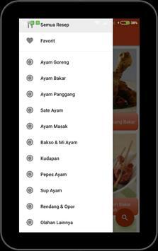 Aneka Resep Ayam Offline screenshot 1