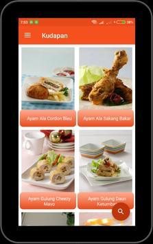 Aneka Resep Ayam Offline screenshot 2