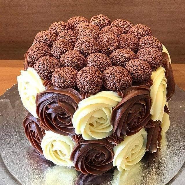 Chocolate Cake Decorating poster