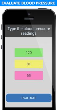 Blood Pressure Evaluation screenshot 1