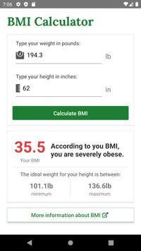 BMI скриншот 4