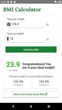 BMI скриншот 1