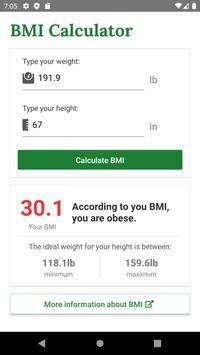 BMI скриншот 2
