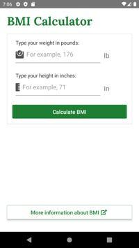 BMI скриншот 3