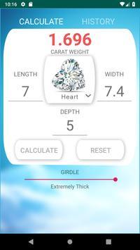 Diamond Weight  Calculator screenshot 4