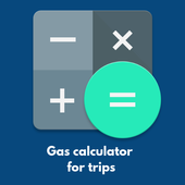 Gas calculator for trips APP icon