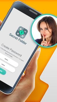 File Locker- Secret Calculator screenshot 1