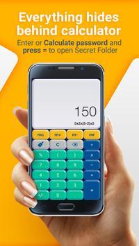 File Locker- Secret Calculator screenshot 2