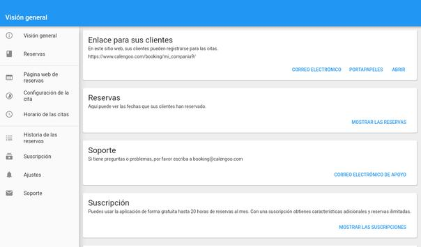 Sistema de reserva de citas captura de pantalla 11